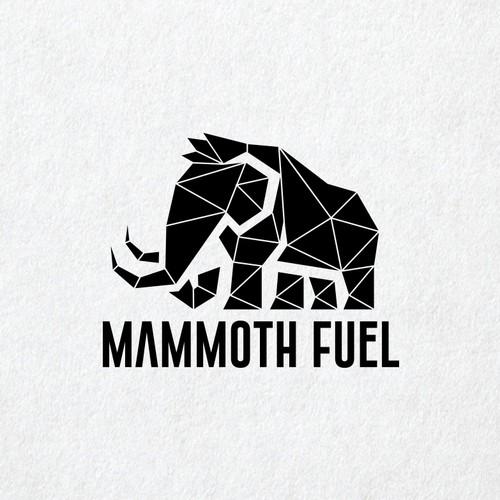 Mammoth mascot logo