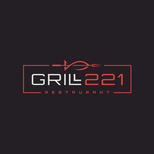 Logo proposal for Grill221 Restaurant