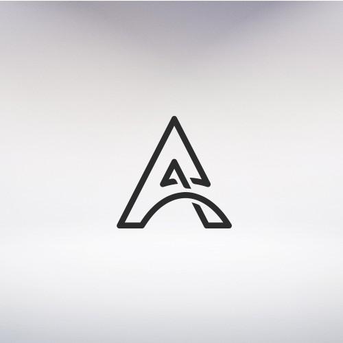 Modern Monogram Logo