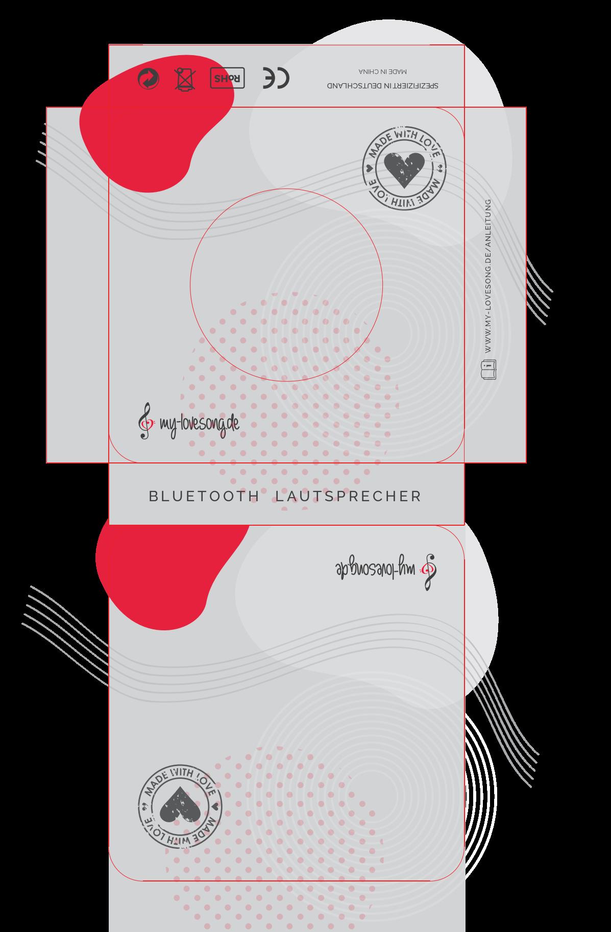 Bluetooth speaker packaging