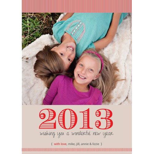 """Picaboo 5"""" x 7"""" Flat New Year's Cards (will award up to 25 designs!)"""