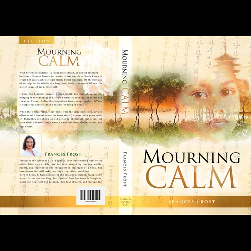 """Book cover for """"Mourning Calm"""""""