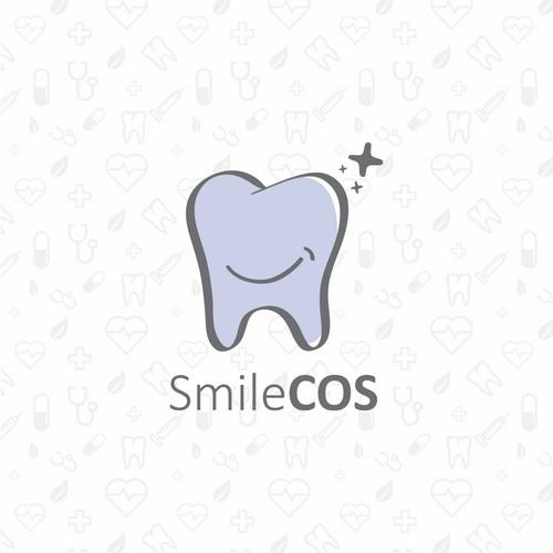 SmileCOS logo design