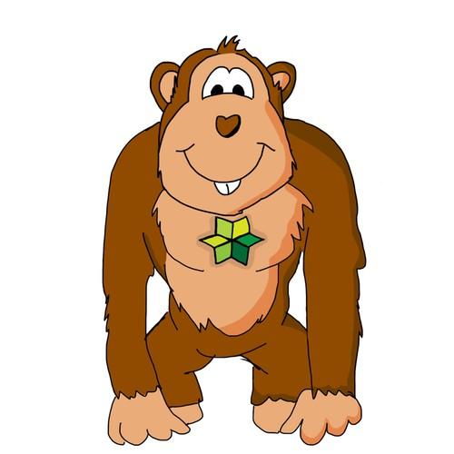 Illustration / monkey
