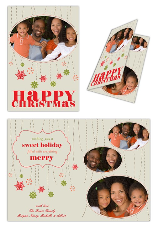 "Picaboo Folded 5"" x 7"" Christmas Cards (will award up to 20 designs!)"