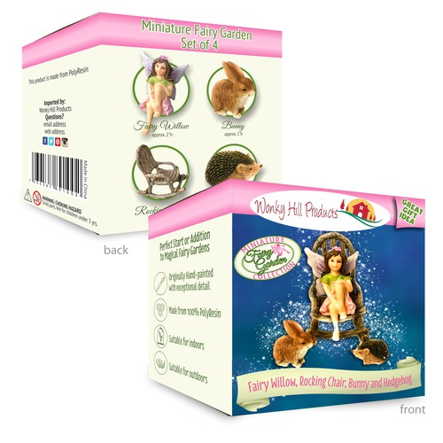 Packaging Design for Fairy Willow Miniature Collection