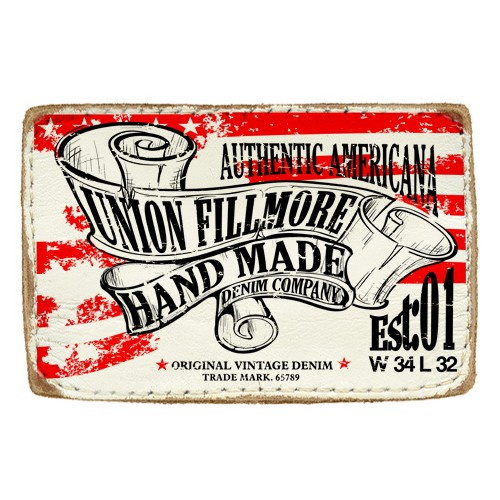 Leather Patch Design Wanted for Union Fillmore Jeans