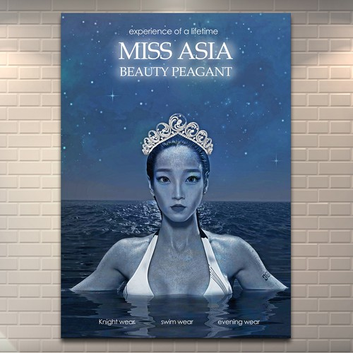 poster for Miss Asia Beauty Peagant
