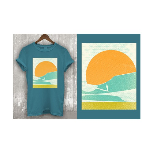 T-shirt designs for t-shirt company.