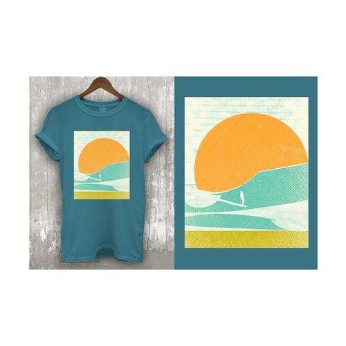 T-shirt designs for t-shirt company.