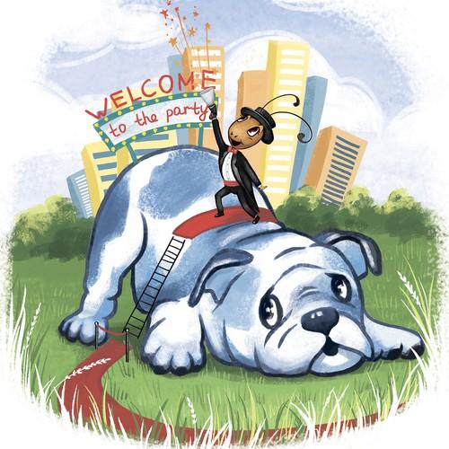 Illustration winner for children's book.