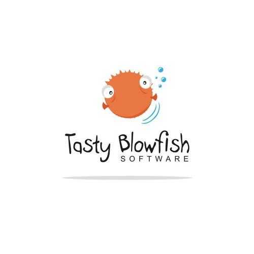Create the next logo for Tasty Blowfish Software