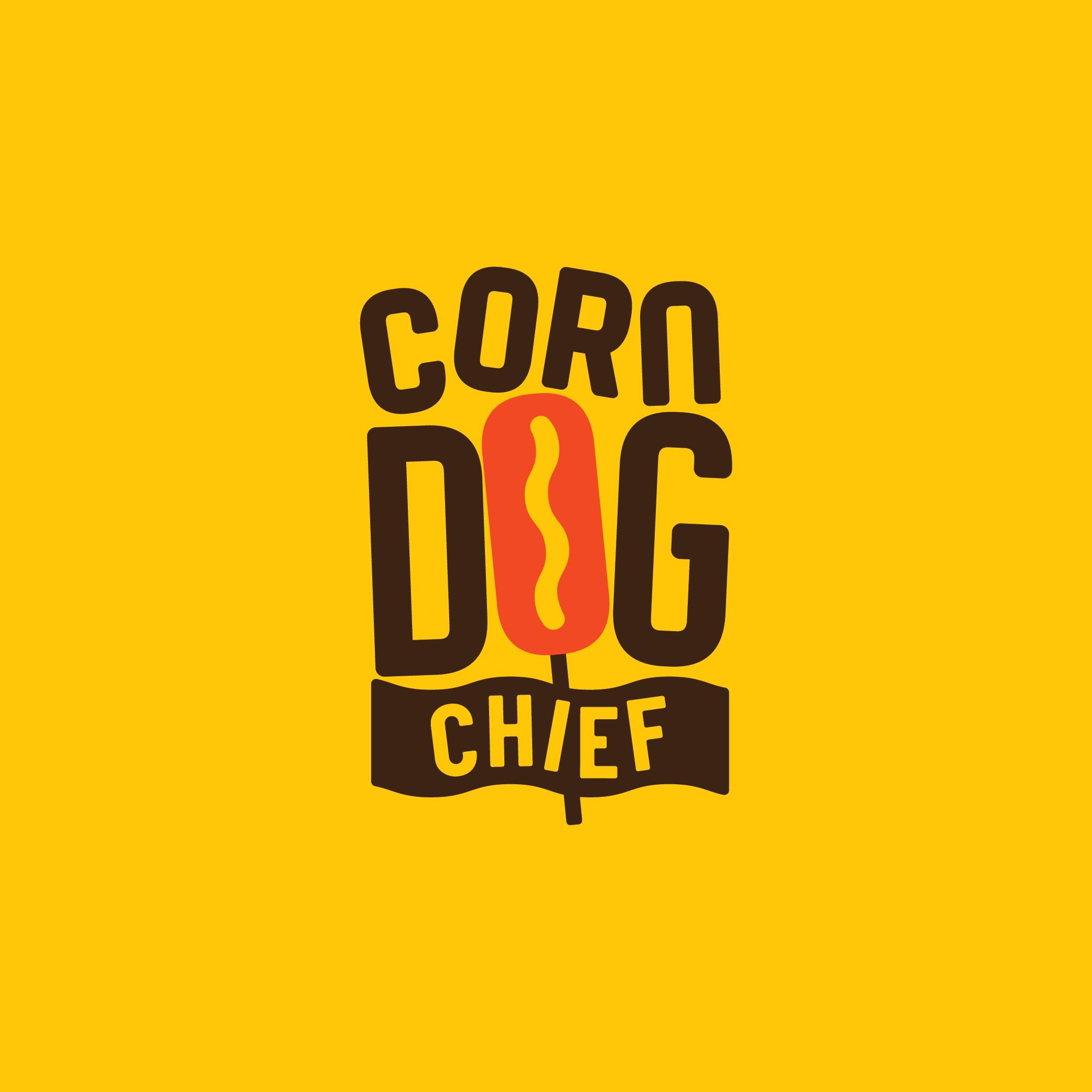 We need a modern logo for a Corn Dog restaurant