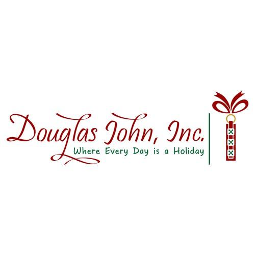 Create a vibrant and Joyful updated vintage Christmas company illustration logo