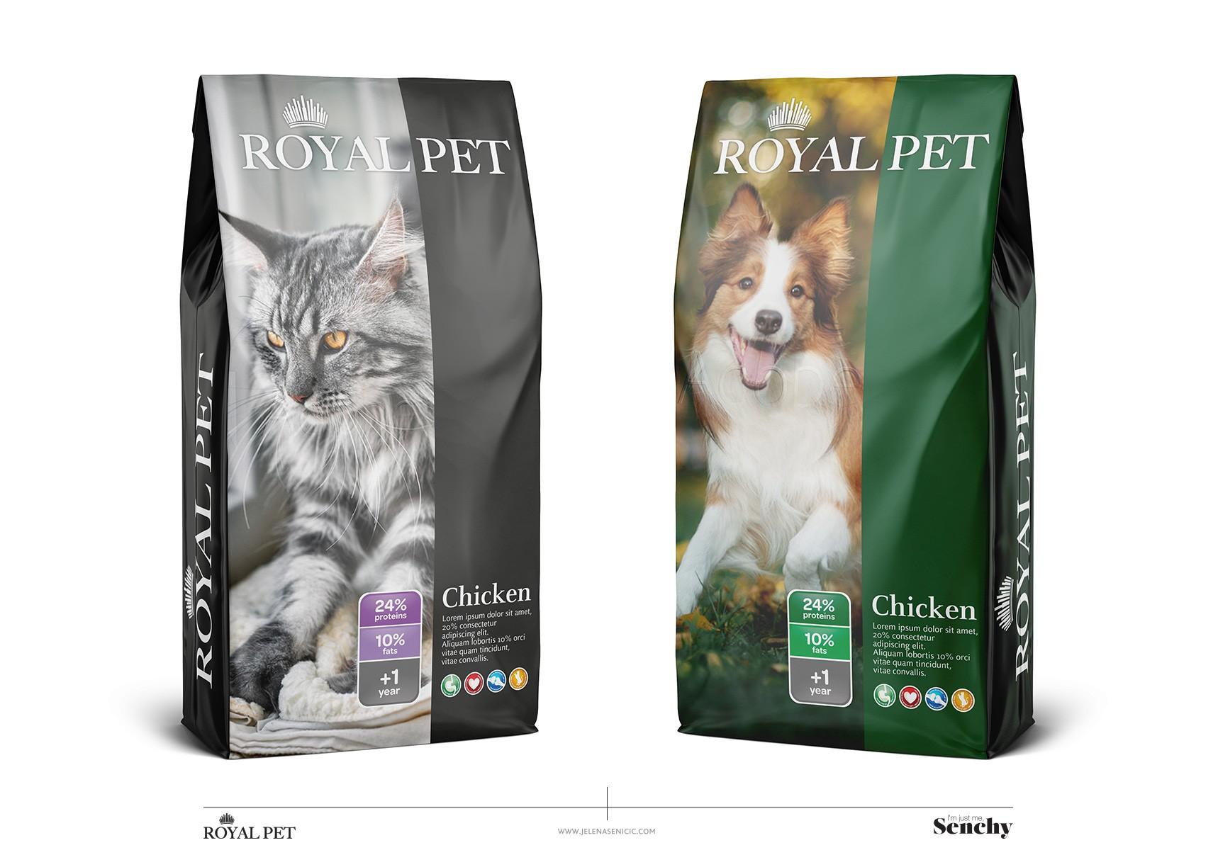 Petfood Package concept design