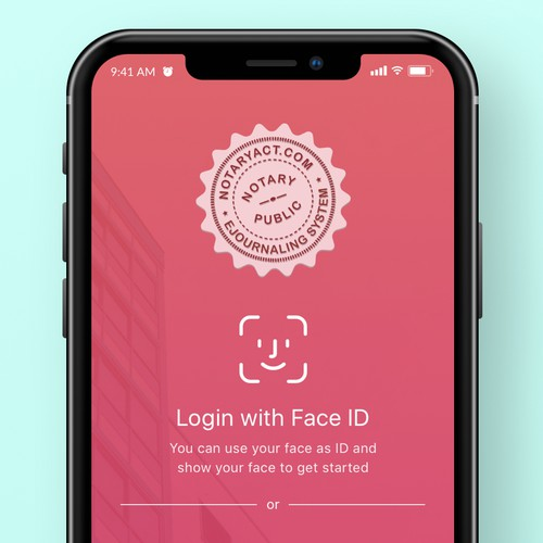 Mobile App for Notary