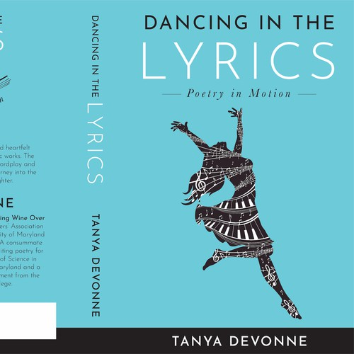Design a book cover for a poetry book that has cross over appeal