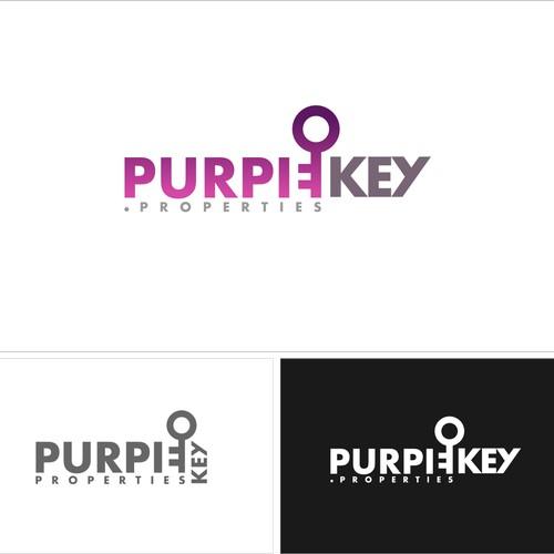 Logo design for Purple Key Properties