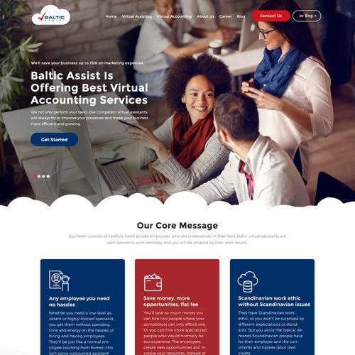 WordPress Website for Baltic Assist