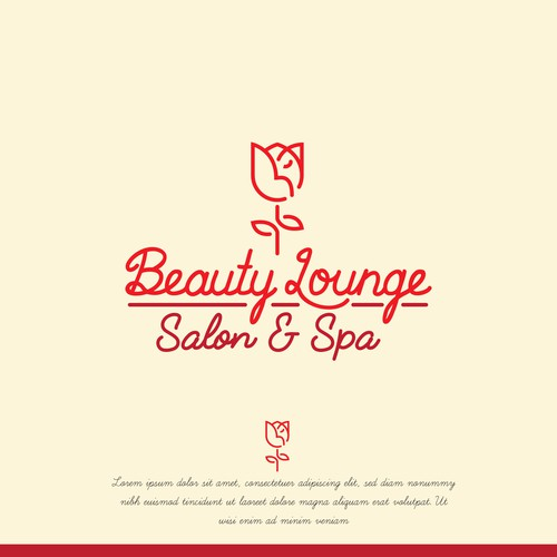 Beauty lounge logo contest entry