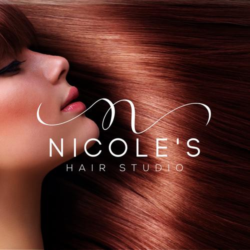 Logo Consept for Nicole's hair studio