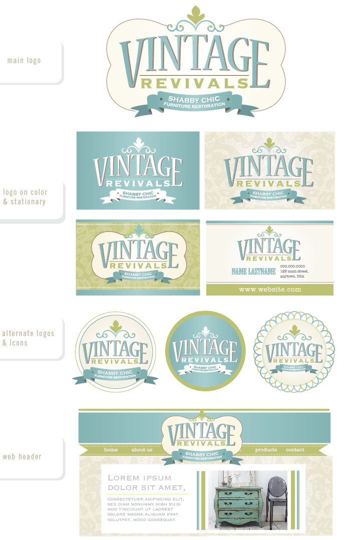 Help Vintage Revivals with a new logo