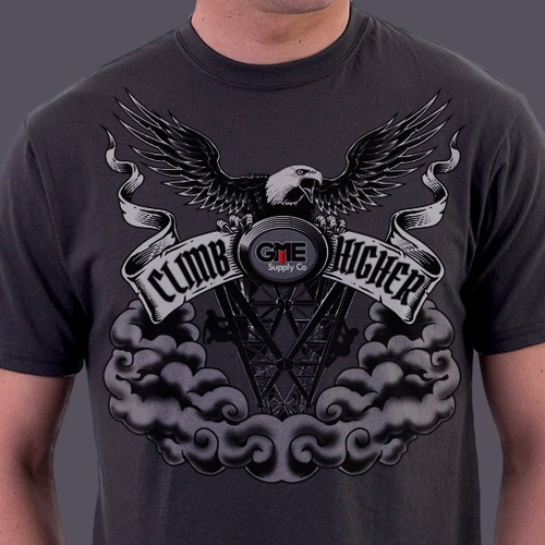 Shirt Design for GME Supply Co.