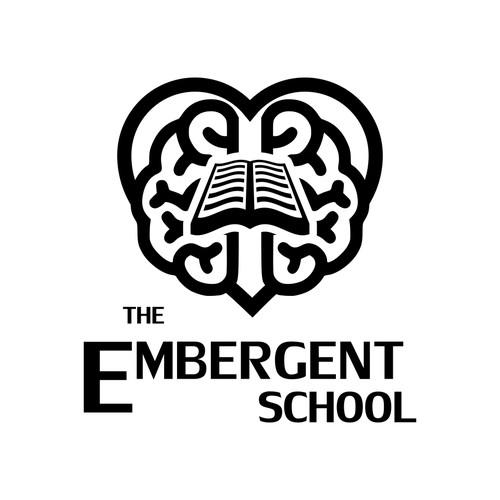 Educational logo for school