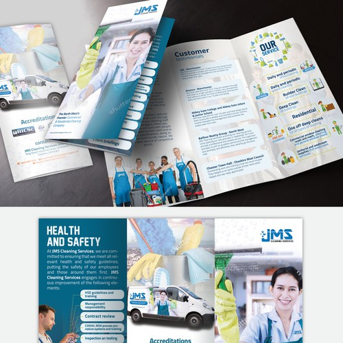 JMS CleaningServices Trifold Brochure
