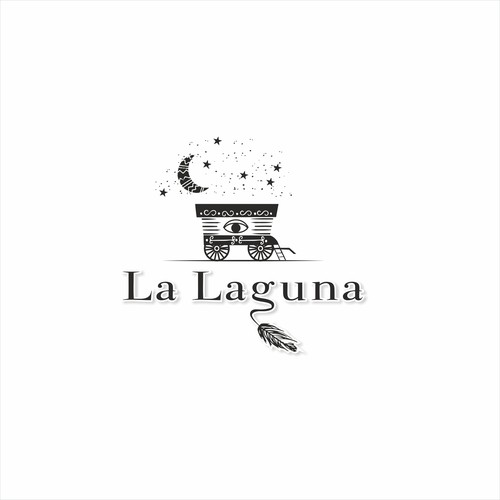 Logo for La Laguna restaurant