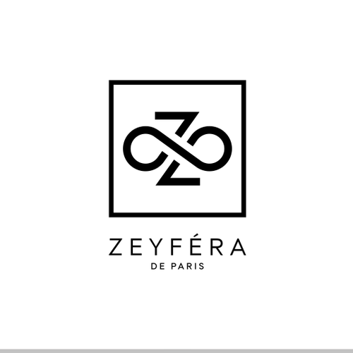 "A young brandname of ready-to-wear logo named ""Zeyféra de Paris"""
