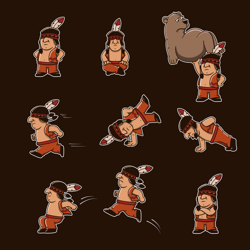 Native american mascot