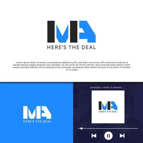 M&A Here's The Deal Logo Entry
