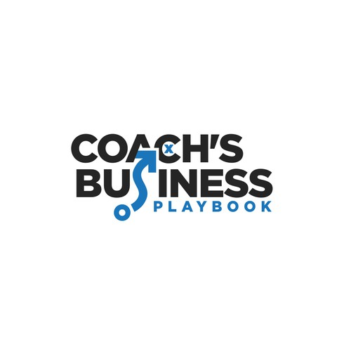 Logo design for Coach's Business Playbook