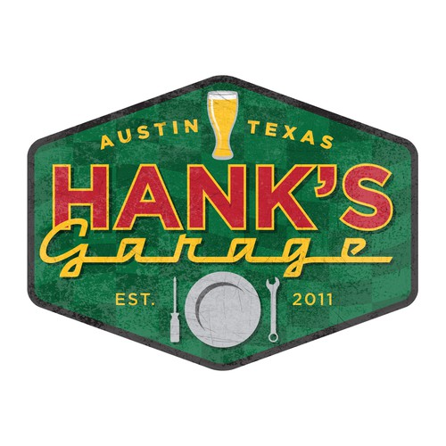 Logo for Hank's Garage