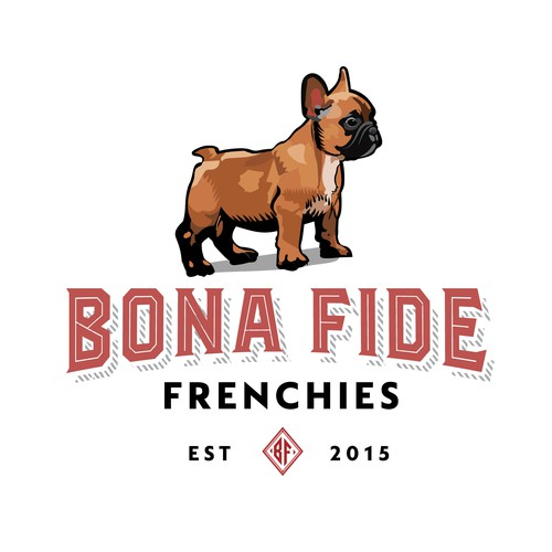 Logo for French Bulldog Breeder