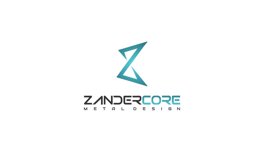 Bold and simple logo for small but premium metalwork design and install company