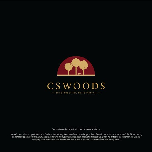 Wood company logo