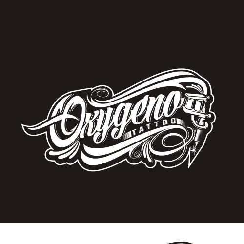 Oxygeno Tattoo Studio. We want a new logo!!