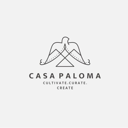 Logo concep for casa paloma