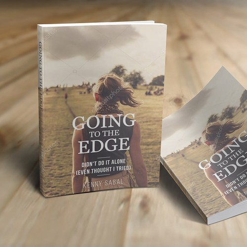 Going to the Edge - Memoir Book Cover