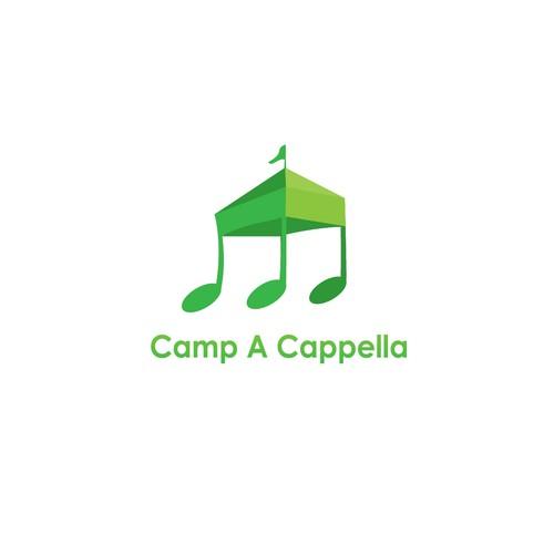 """Unique Design for """"Camp A Capella"""""""