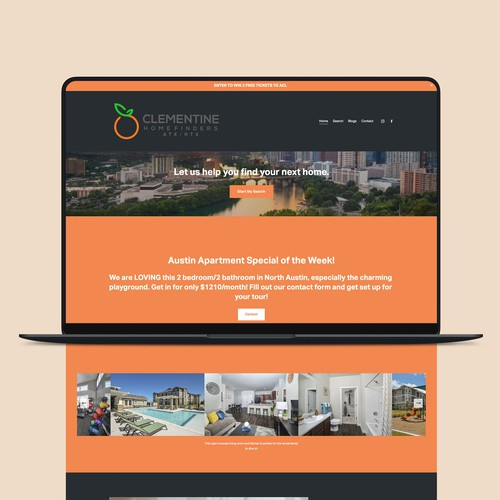 Clementine Home Finders • Search Engine Optimization