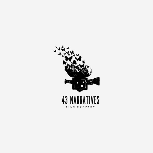 bold logo for 43 Narratives