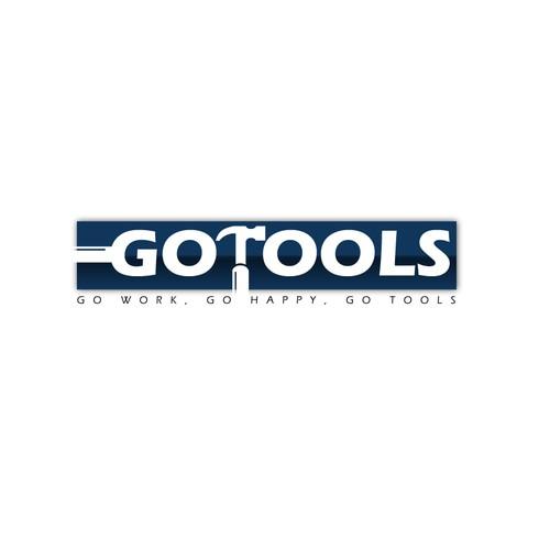 Logo concept for air tools company