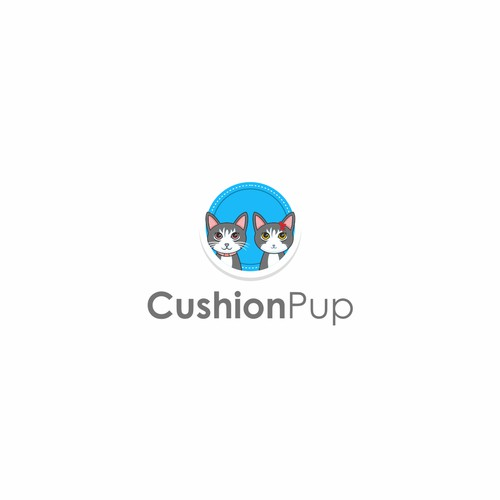 logo proposal cushion pup