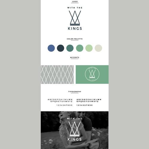 Logo & brand identity for a husband/wife entrepreneur team