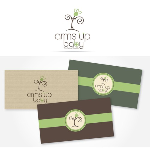 Arms Up Baby needs a new logo