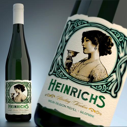 En el concurso design a stand out wine label for family estate vintage