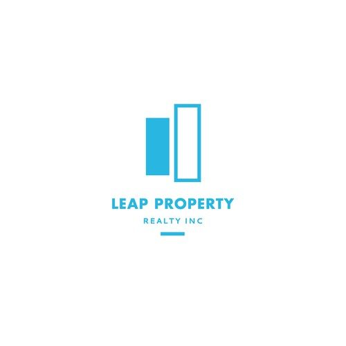 Leap Property Logo // Application Example